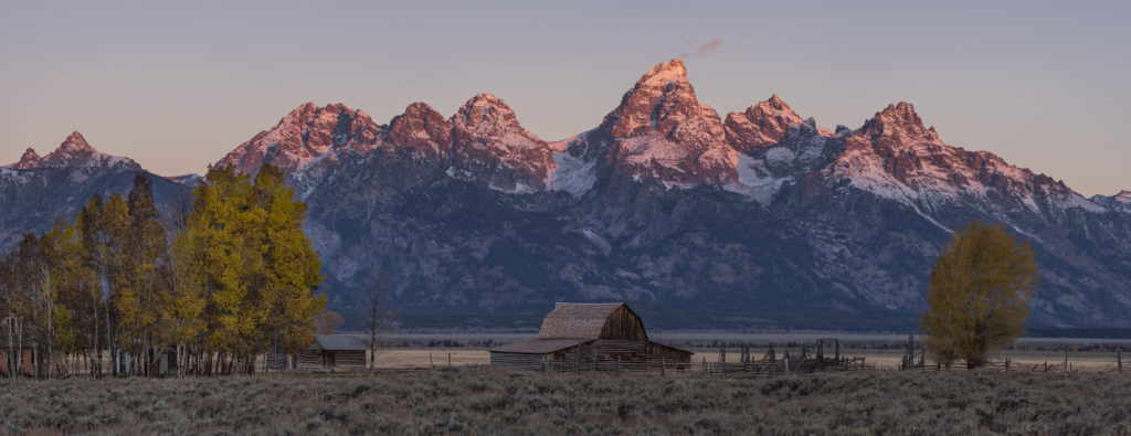 Mormon Row Grand Tetons