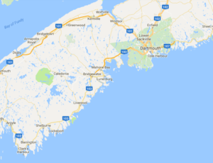 Cabot Trail Map, which way to drive?