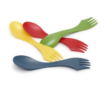 Sporks make great traveling tools for eating on the go!