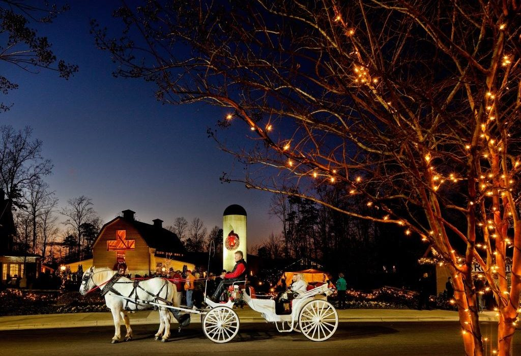 Christmas at the Cove & the Billy Graham Library