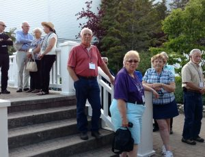 We had such warm, sunny days on our journey - perfect for fellowshipping at the various places we visited.