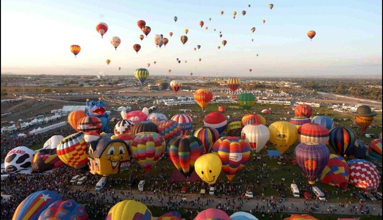 Albuquerque Balloon Fest (featuring Santa Fe and Pecos National Historic Park